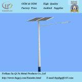 2018 Nuevo de acero inoxidable de alta calidad poste de luz solar calle