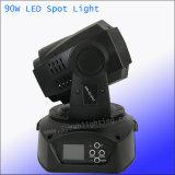 90W LED 반점 이동하는 맨 위 단계 빛