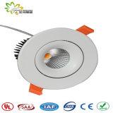 穂軸LED 25W Downlight SAAの承認のオーストラリアの標準、LEDライト、LEDの点はつく