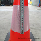 Конус движения PVC оптовой продажи 18inch фабрики Jiachen черный низкопробный