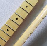 一つのかえでの開始のギターの首の置換8mmのチューナーの穴