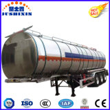 De Jushixin d'alliage d'aluminium d'essence de camion-citerne aspirateur remorque semi