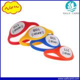 Buoni Wristbands di iso 14443A NFC RFID del silicone di prezzi 13.56MHz