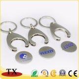 Держатель Keychain монетки конструкции клиента высокого качества