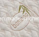 Bambu Fabrifiller de 100% com TPU e protetor impermeável feito malha acolchoado saia feito malha poliéster do colchão