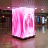 P6mm Shopping Mall Publicidade Display LED em Cores HD outdoor