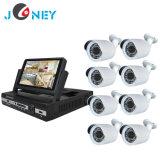 Sistema de seguridad casero del CCTV de la cámara 4CH 8CH DVR de la P.M. Ahd del sistema de seguridad 2.0