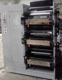 Impresora de Flexo para que rodillo de la etiqueta engomada ruede