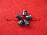 Guide en céramique d'oeillet de titanes noirs de textile