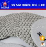 Пусковые площадки диаманта шестиугольника сухие полируя для мрамора и гранита