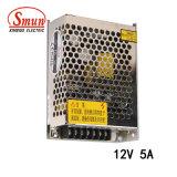 60W 12VDC 5A 엇바꾸기 최빈값 전력 공급 SMPS 것과 같이 60 12 Smun