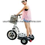 Faltende elektrische 3 Rad-Mobilität 500W für ältere Personen