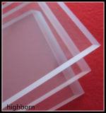Forme carrée résistant à la chaleur de la plaque de verre de quartz clair fabricant
