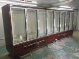 Kommerzieller aufrechter Glastür-Bildschirmanzeige-Kühlraum