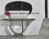 Edelstahl-Tisch- für Systemkonsoleseiten-Tisch-Enden-Tisch-Lampen-Tisch-Wohnzimmer-Möbel