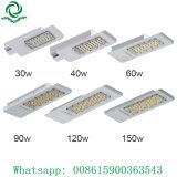Refrigeração Super 90W 120W 150W luz de rua de LED para a zona tropical