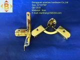 El rectángulo de joyería conecta la bisagra del hierro
