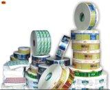 Varia impresión material de la escritura de la etiqueta para la muestra/advertir/etiquetado/etiqueta engomada de la guía/de la promoción
