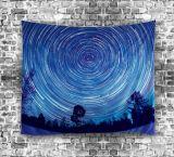 Tappezzeria stellata psichedelica splendida del cielo stampata Digitahi del poliestere (01P0001)