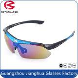 Comercio al por mayor gafas de sol intercambiables deportes Ciclismo Goggle miopía