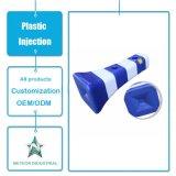 Moulage en plastique se reflétant personnalisé de coup de baril de sécurité routière d'équipements de circulation de signe