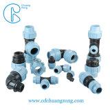 Cr 110mm pp les raccords de compression du tuyau de jardin