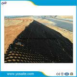 El plástico HDPE Geocell/Geoweb Solidafication pendiente para la construcción de carreteras/