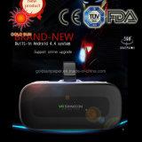 Óculos 3D Vr Caixa Fone de ouvido 2.0 Realidade Virtual 3D com óculos de vídeo para o controlador Gamepad Samung Bluetooth
