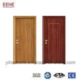 China forneceu a lista de preço de madeira exterior da porta do PVC