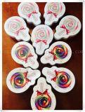 Regali belli delle ragazze della casella di memoria della stampa del contenitore di monili del sacchetto della moneta del contenitore di stagno di memoria di figura della latta del Lollipop
