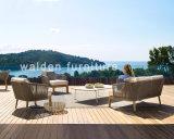 2018年のWaldenの屋外の家具またはロープの編む家具の木製のラウンジのソファー
