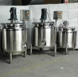 Detergente para lavavajillas depósito mezclador de acero inoxidable