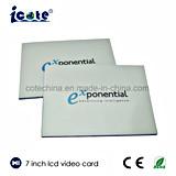 Cartão de LCD de 7 Polegadas Brochure-Video Booklet-Video Vídeo em Imprimir