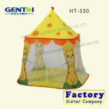 بوليستر مزح حيوانيّ يلعب خيمة