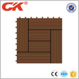 Верхняя блокировка конструкции и пола плиток палубы сбывания деревянная