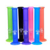 Tubulação de fumo colorida luminosa de fumo do silicone da tubulação de água de Siliconebong