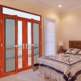 La puerta principal diseña la puerta doble para la sala de estar