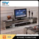居間の中国の家具のテレビガラスTVの立場