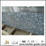 Естественные каменные голубые плитки гранита перлы для шагов/лестниц настила