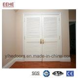 Porta de madeira contínua do projeto simples com a grelha para opcional