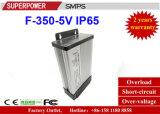 Nueva fuente de alimentación de salida única impermeable de la conmutación de la serie de la C.C. 5V 350W SMPS