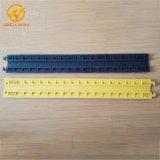 Großhandelspreis Belüftung-flexible gelbe Umhüllungen-Kabel-Schoner-Rampe