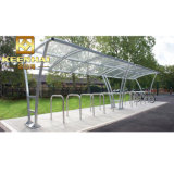 Abri solaire de bonne qualité d'arrêt de bus d'acier inoxydable de Bspoke
