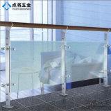 Poste modificado para requisitos particulares de la barandilla del acero inoxidable de la fuente de la fábrica de la talla