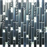 Suelo y pared de precio de los azulejos de mosaico del vidrio cristalino del rectángulo
