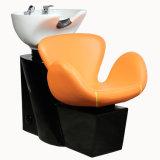 Rosen-Blumen-Shampoo-Geräten-Herrenfriseur-Haar-waschendes Stuhl-Bett