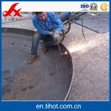 A extremidade do tanque de chapa de aço Norma AAR