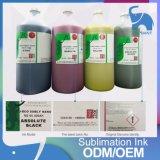 싼 가격을%s 가진 승화 잉크를 인쇄하는 가져오기 4 색깔 1000ml 디지털
