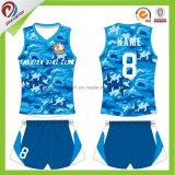 Venda quentes personalizadas na moda a montar um novo design uniforme de Voleibol