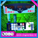 LCDのWindowsが付いているタクタイル容量性メンブレイン・キーボードスイッチ